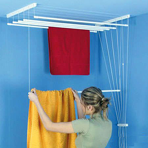 plafonddroogrek handig ruimtebesparend