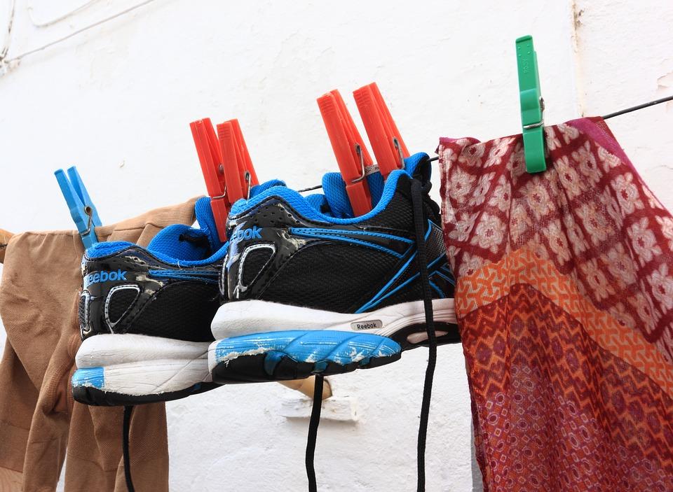 schoenen wassen