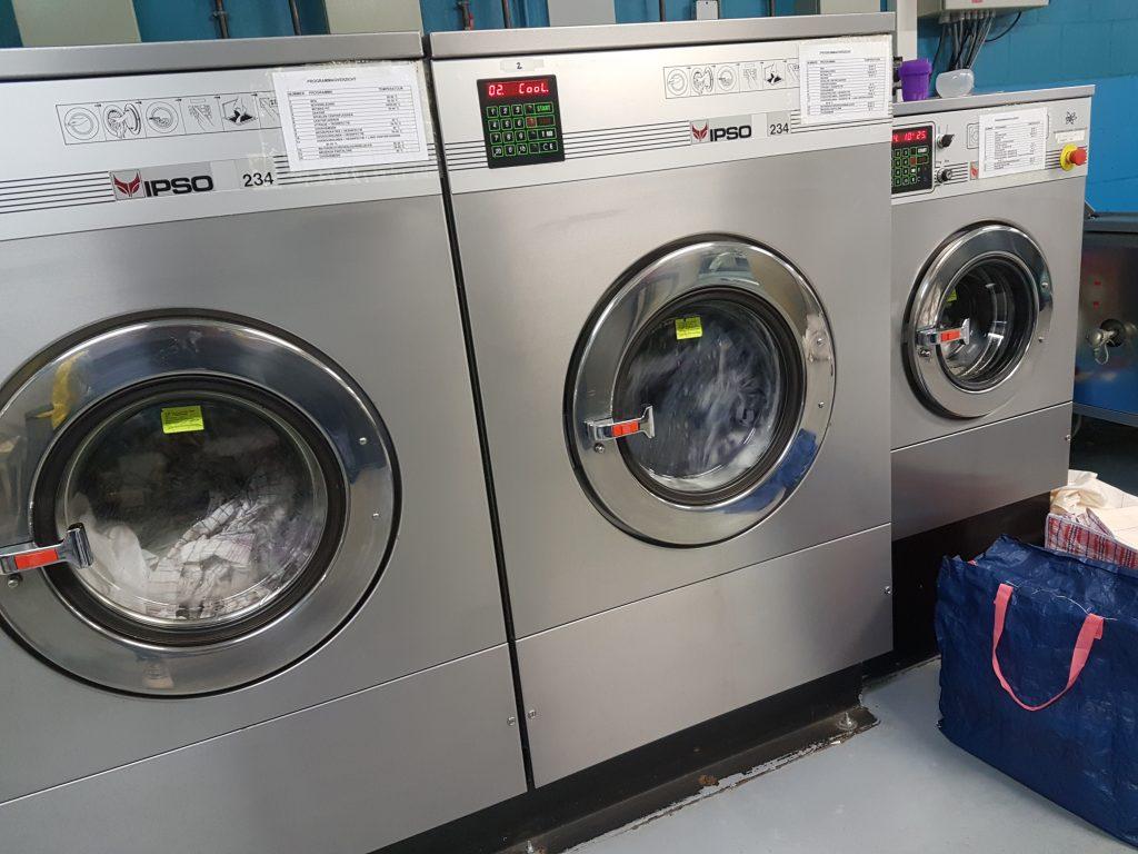 wasmachines in de stomerij