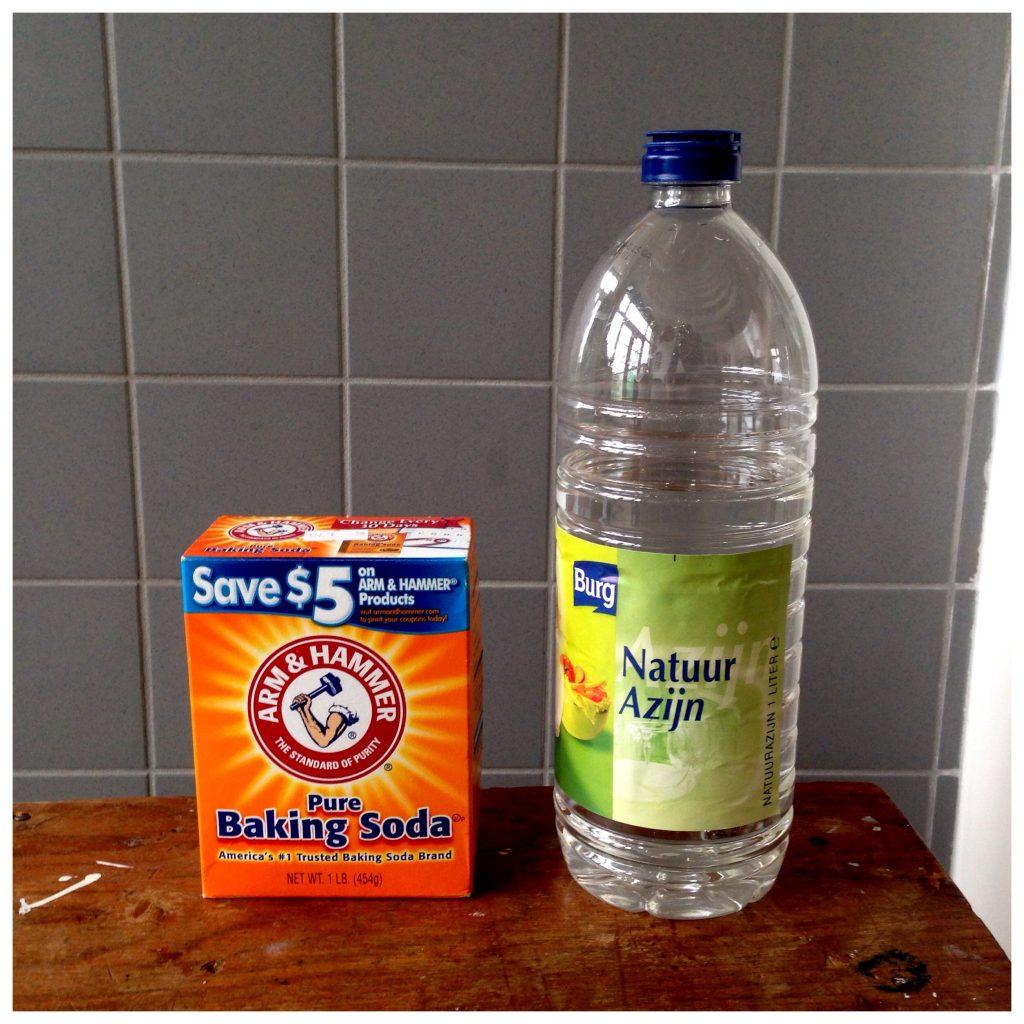 natuurazijn en soda