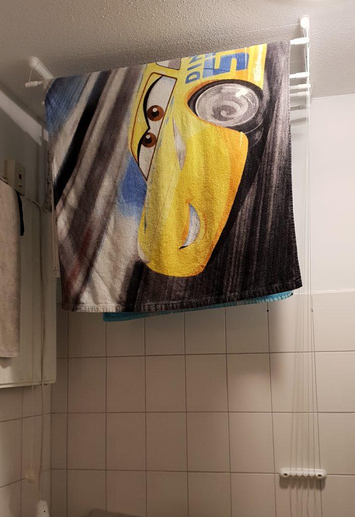 handdoeken-badkamer--voor-plafonddroogrek