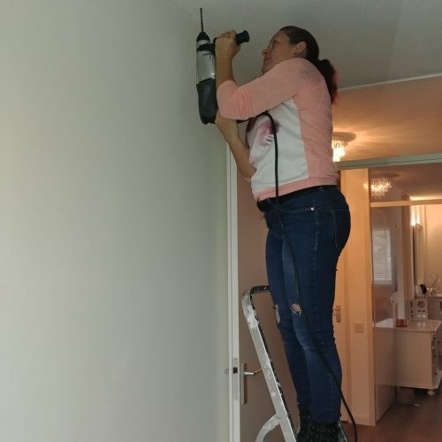 montage-boren-plafonddroogrek