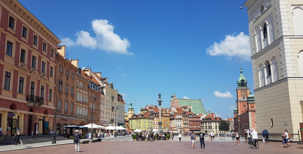 Warszawa-plein