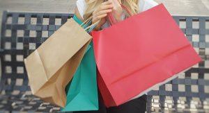 shoppen op de beurs